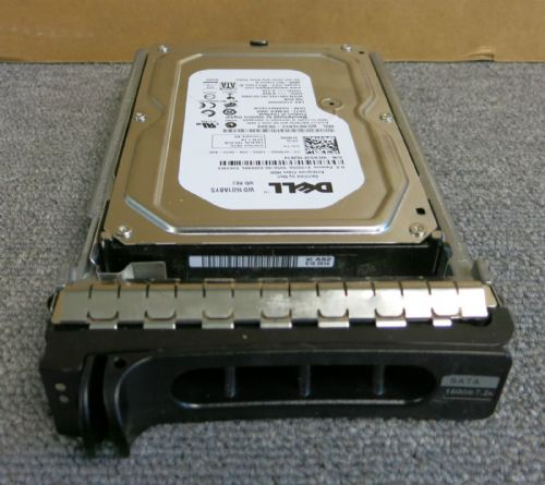 Dell 0FM569 / FM569 / WD1601ABYS 160GB 72K RPM 16MB SATA  Hard Drive With Caddy